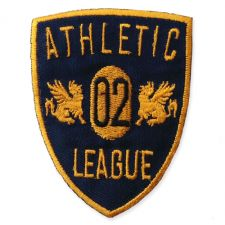ATHLETIC LEAGUE MOTIF IRON ON EMBROIDERED PATCH APPLIQUE